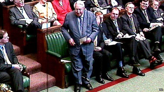 Ted Heath in the Commons
