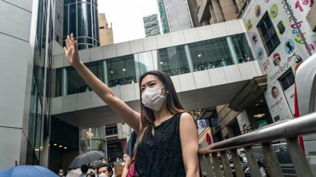 Manifestaciones prodemocracia volvieron a las calles por la nueva ley de seguridad