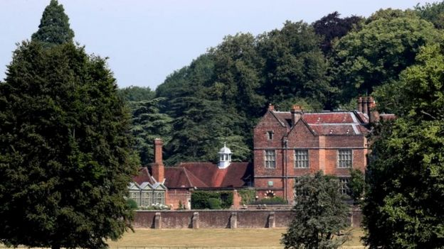 Image captionChequers is the official country retreat of serving prime ministers