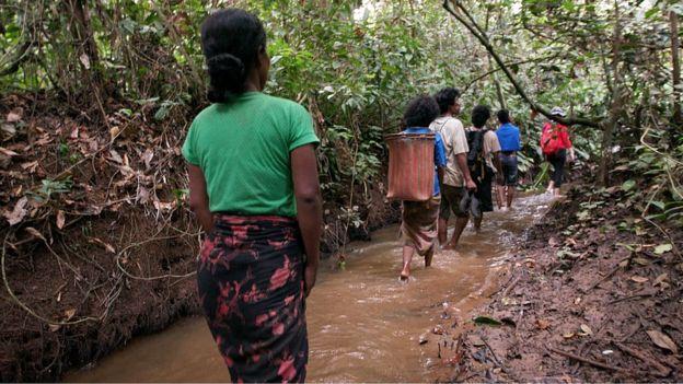 Orang Rimba people