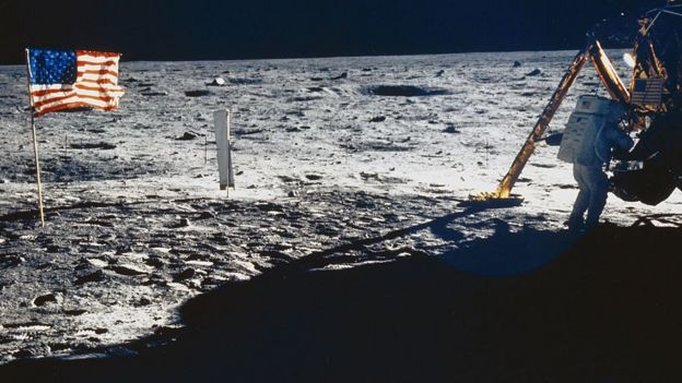 Neil Armstrong na Lua em 1969