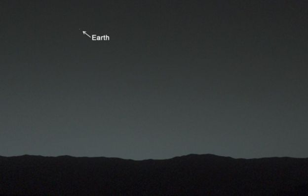 Earth seen from Tuesday