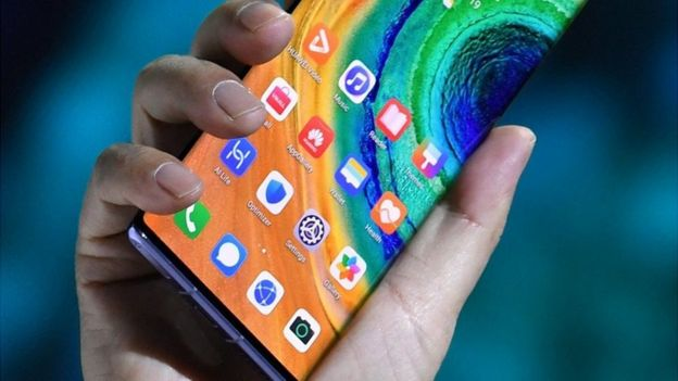 Huawei Mate 30 phones launch without Google apps - BBC News