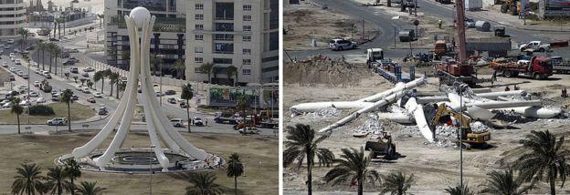 رابعة واللؤلؤة والقيادة العامة اعتصامات فُضّت بعنف