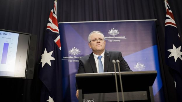 """澳洲政府2015年否决长江实业和中国国家电网公司联手收购澳洲电力公司Ausgrid 股份的计划,财长莫里森当时指,收购计划不符合澳洲的""""国家利益""""。"""