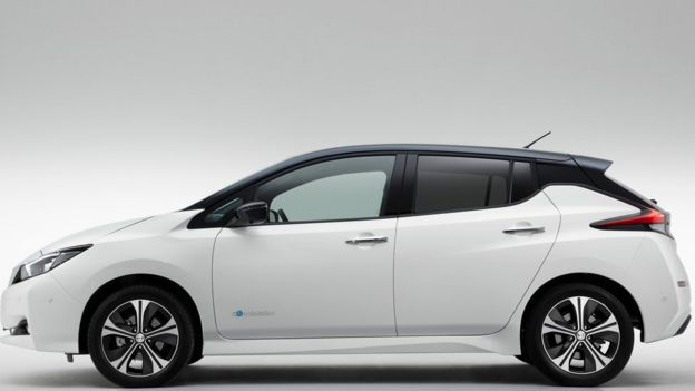 Nissan Leaf Electric Car Goes Further With One Pedal Driving Bbc
