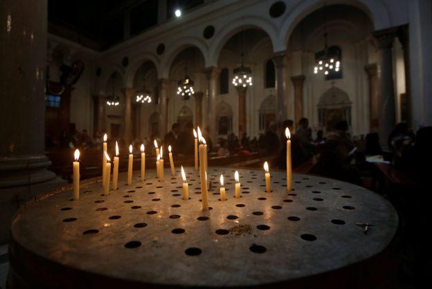 Праздничная месса в Каире