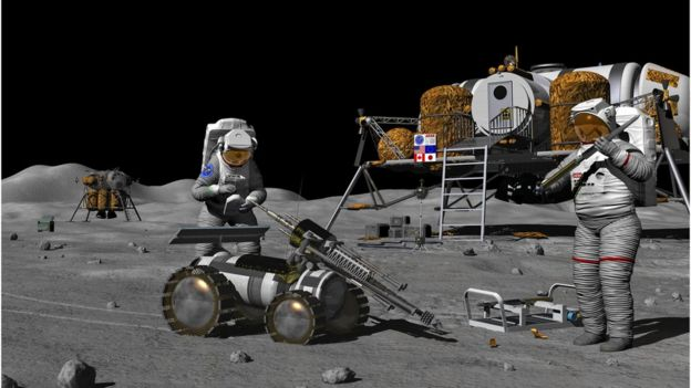 Human exploration of Moon