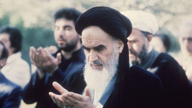 El ayatolá Jomeini