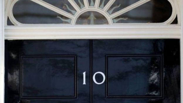 Kantor PM Inggris, Downing Street 10.