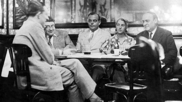 Antoine de Saint-Exupéry con su esposa Consuelo en 1934.