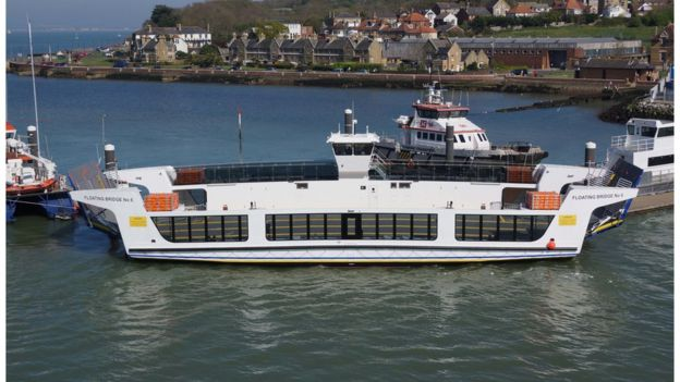 Firm brought in to tackle problem plagued ferry - BBC News