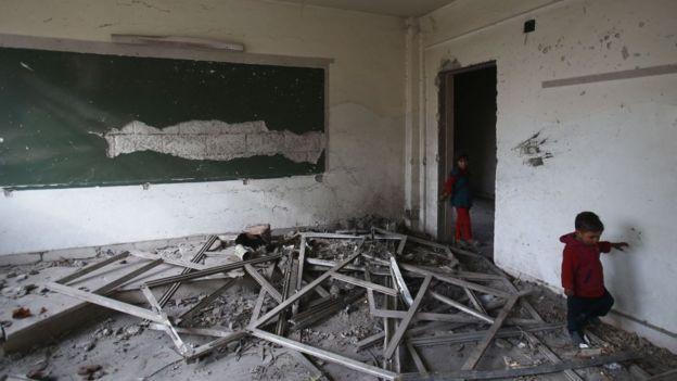 UNICEF'in raporuna göre çatışma bölgelerindeki saldırılarda okul ve hastaneler kasıtlı olarak hedef alındı.
