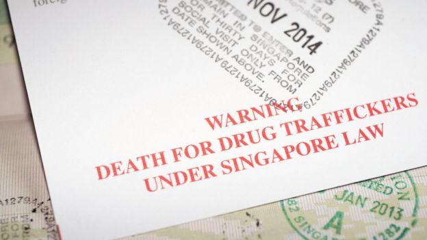 Singapore arrival card