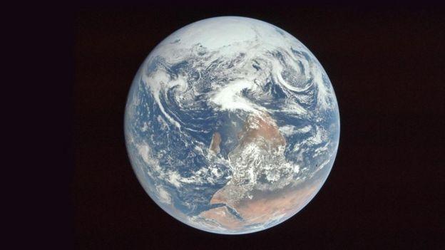 Fotografa de la Tierra