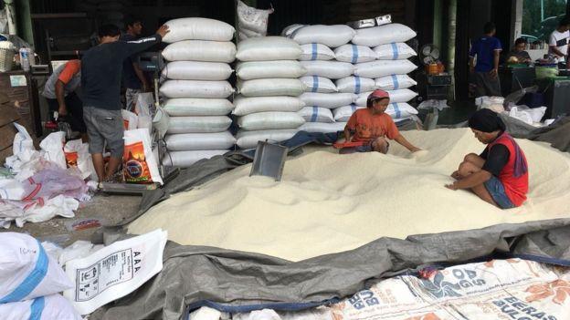 Pedagang menginginkan amannya pasokan beras untuk dijual