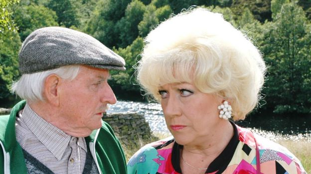 Robert Fyfe as Howard and Jean Fergusson as Marina