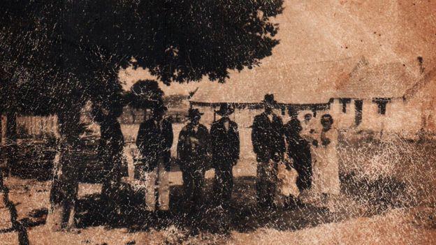 Imagem dos anos 1890, que seria da Colônia Cecília
