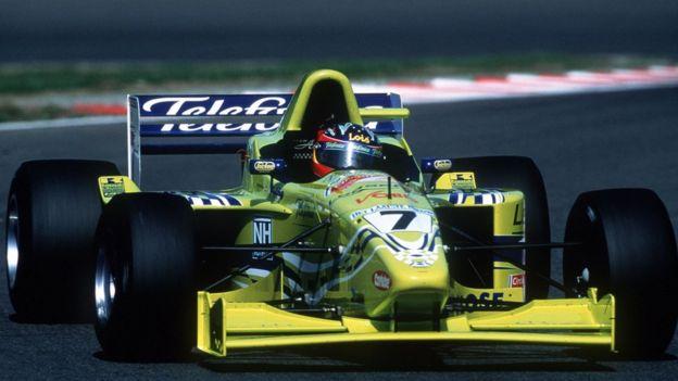 Fernando Alonso en la Fórmula 3000