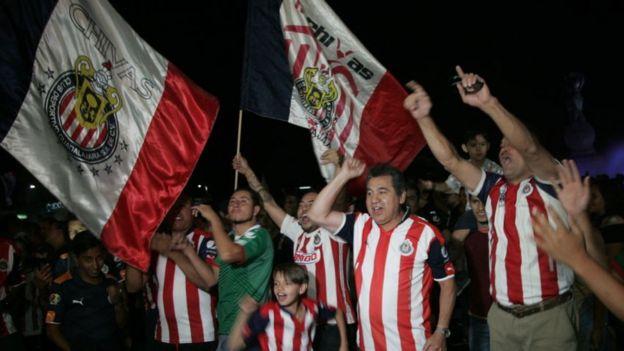 Hinchas de Chivas