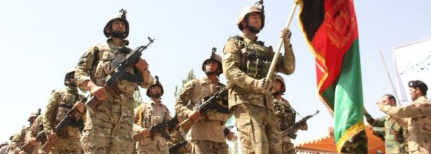 Afghanistan's Ghani says 45,000 security personnel killed
