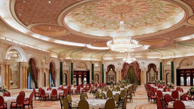 El salón B del hotel Ritz-Carlton en Riad. Foto: Web Ritz-Carlton Riad