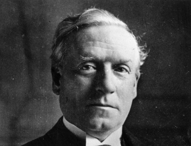 Primer ministro británico Herbert Asquith
