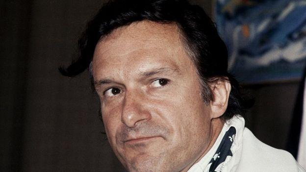 Hefner, en una fotografía de 1970 en Le Bourget, Francia.