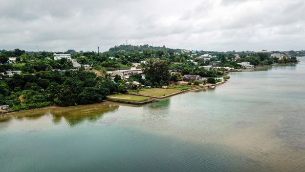 Port Vila, the capital of Vanuatu