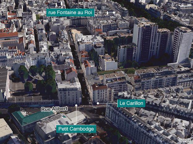Rue Alibert aerial image