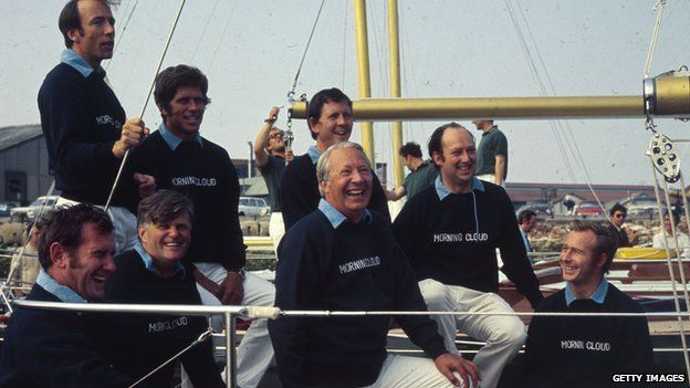 The British Admiral's Cup team in 2001