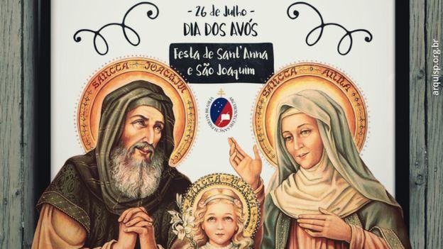 São João e Santa Ana, pais de maria