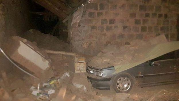 تصاویر اولیه از خسارات زلزله دیشب در جنوب استان آذربایجان شرقی