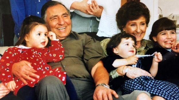 David Herman and family photo