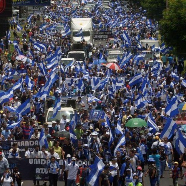 Desde abril de 2018, Nicaragua ha vivido numerosas protestas multitudinarias.