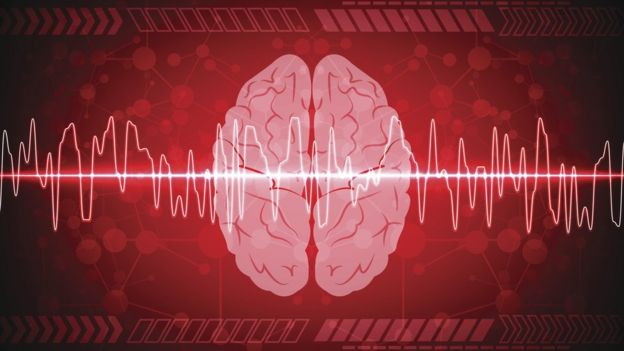 Imagem digital de um cérebro