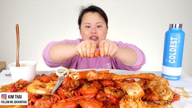 美国youtuber Kim Thai