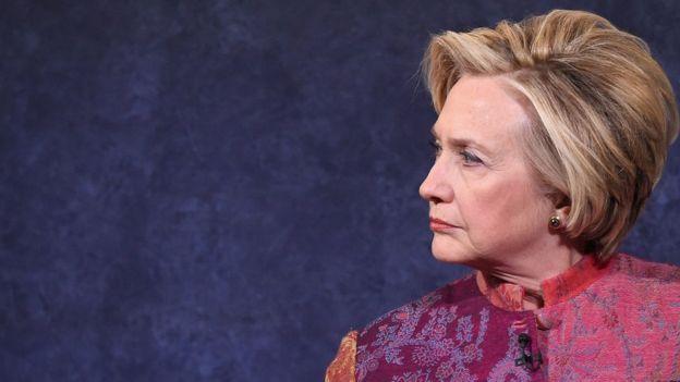 Hillary Clinton, ex candidata à presidência dos Estados Unidos