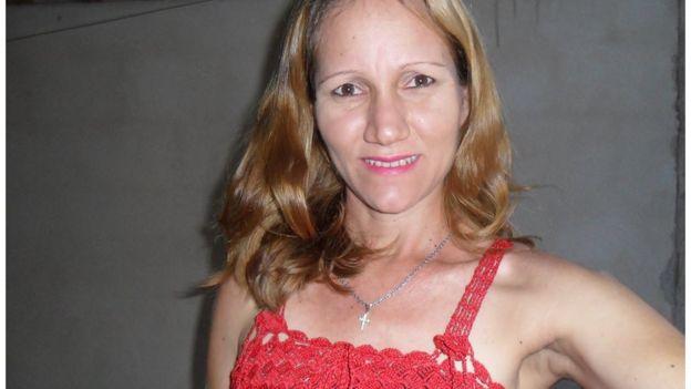 Sandra Lucia Hammer Moura, vítima de feminicídio no Brasil