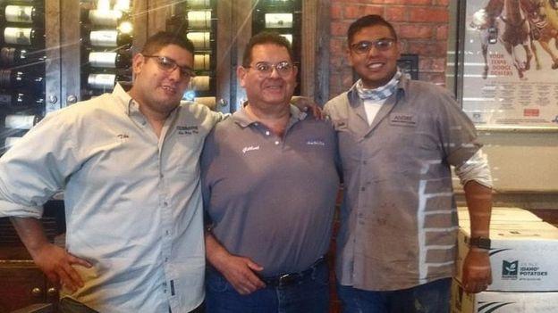 Tito, Gilbert and Andre Anchondo