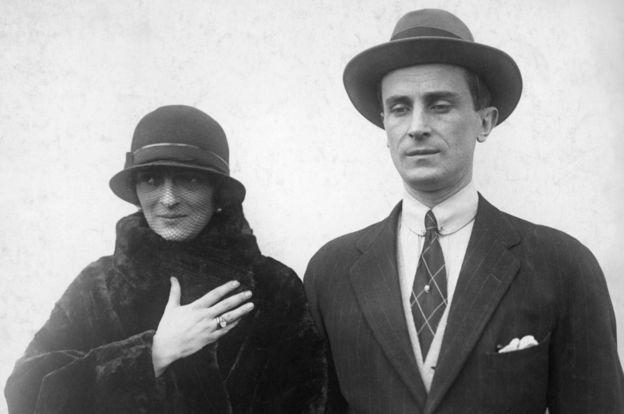 الأمير يوسوبوف وزوجته