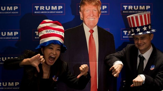 2016年美国驻上海总领馆举办大选投票