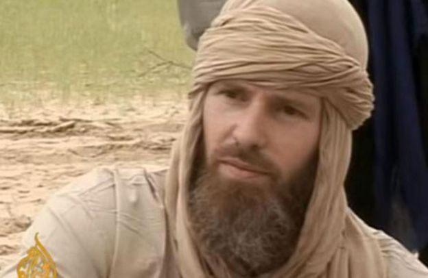 Stephen McGown em vídeo da Al-Qaeda