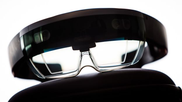 Microsoft Hololens glasses