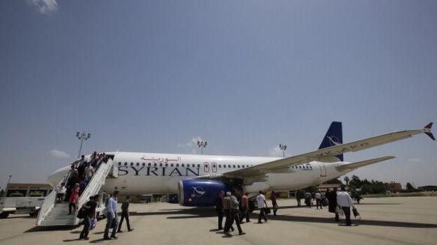 Şam'dan Kamışlı Havalimanı'na uçuşlar yapılmaya devam ediyor
