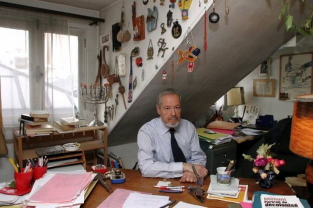 آلبر ممی، نویسنده بزرگ فرانسوی