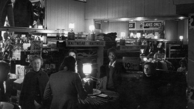 Power cut in 1974