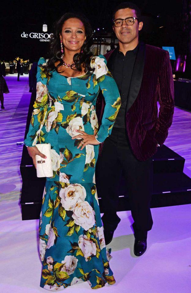 Isabel dos Santos ve eşi dünya yıldızlarıyla birlikte film galalarına katılıyor