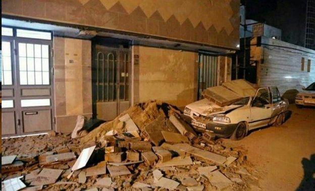 عکس ایلنا از خرابی زلزله در ایران