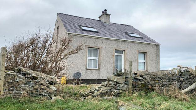 La casa de Gerald Corrigan.